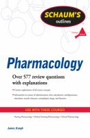 Schaum's Outlines: Pharmacology