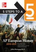AP European History, 2010-2011