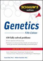 Schaum's Outlines: Genetics