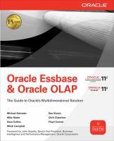 Oracle Essbase & Oracle OLAP