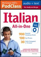 Italian All-in-one Study Guide for your IPod