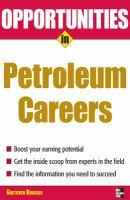 Opportunities in Petroleum Careers