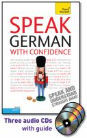 Speak German With Confidence
