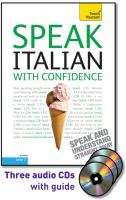 Speak Italian with confidence