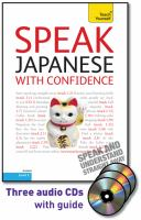 Speak Japanese With Confidence
