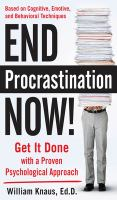 End Procrastination Now!
