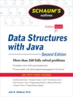Schaums Outline of Data Structures With Java