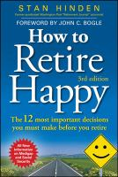How to Retire Happy