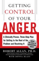Getting Control of your Anger
