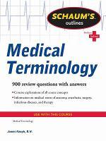 Schaum's Outlines: Medical Terminology
