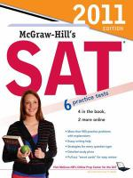 McGraw-Hill's SAT