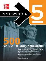 500 AP U.S. History Questions to Know by Test Day