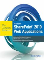 Microsoft SharePoint 2010 Web Applications