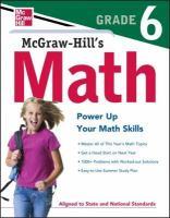 Mcgraw-hill Math Grade 6