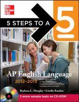 AP English Language, 2012-2013