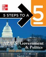 AP U.S. Government & Politics, 2012-2013