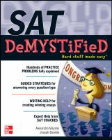 Sat Demystified