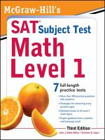 McGraw-Hill's SAT Subject Test