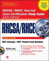 RHCSA/RHCE Red Hat Linux Certification Study Guide