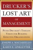 Drucker's Lost Art of Management