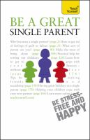 Be A Great Single Parent