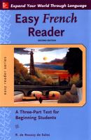 Easy French Reader
