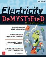 Electricity Demystified