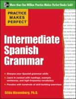 Intermediate Spanish Grammar