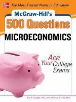 McGraw-Hill's 500 Microeconomics Questions