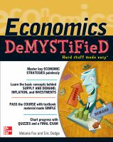 Economics Demystified
