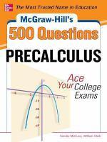 McGraw-Hill's 500 Precalculus Questions