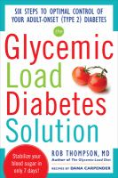 The Glycemic-load Diabetes Solution