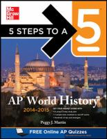 AP World History, 2014-2015