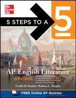 AP English Literature 2014-2015