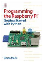 Programming the Raspberry Pi