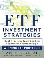 ETF Investment Strategies