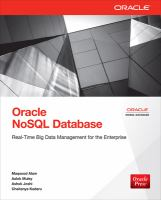 Oracle NoSQL Database