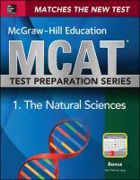 McGraw-Hill's Education MCAT