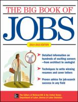 The Big Book Of Jobs 2014-2015