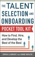 Talent Selection and Onboarding Tool Kit