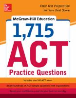1,715 ACT Practice Questions