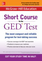 Short Course for the GED® Test