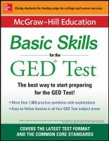 Basic Skills for the GED® Test