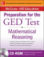 McGraw-Hill Education Strategies for the GED® Test in Mathematical Reasoning