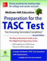 Preparation for the TASC Test