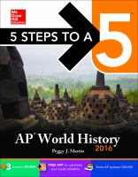 AP World History, 2016