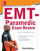 McGraw-Hill Education's EMT-paramedic Exam Review