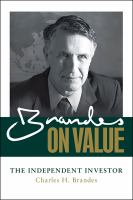 Brandes on Value
