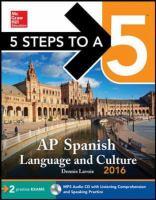 AP Spanish language and culture 2016