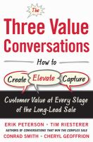 The Three Value Conversations